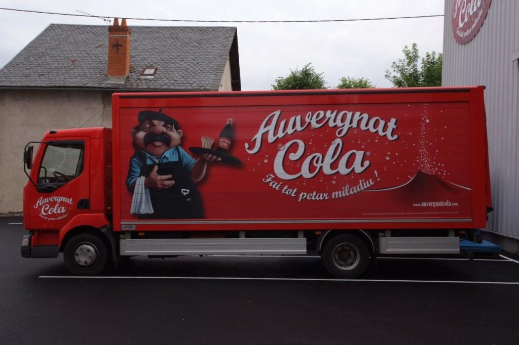 Camion Auvergnat Cola