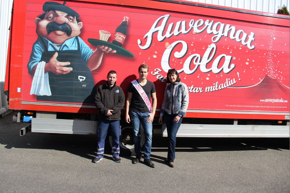 Auvergnat Cola accueille Benjamin Truchard